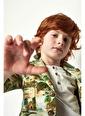 Nebbati Erkek Çocuk Desenli Ceket 19SS0NB3703 Renkli
